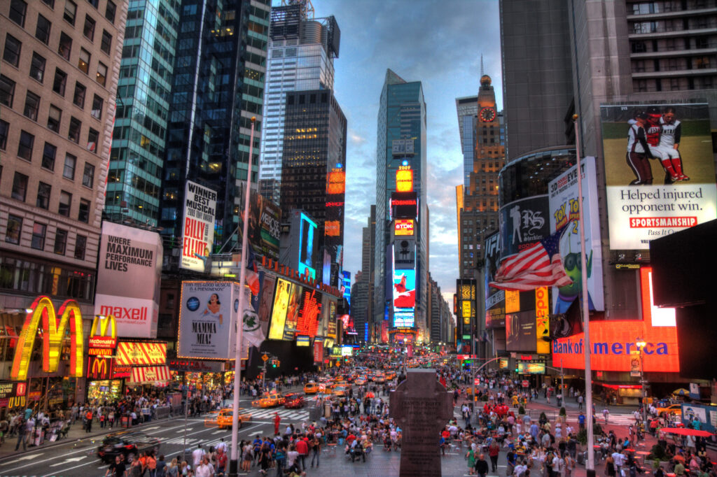 digital signage: times square