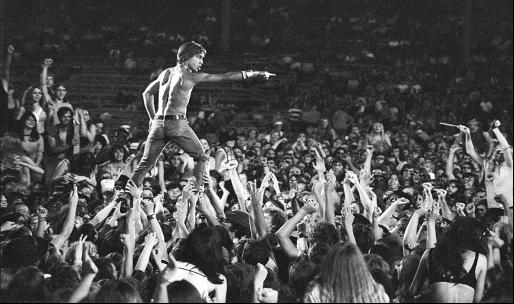 Iggy Pop live in Cincinnati