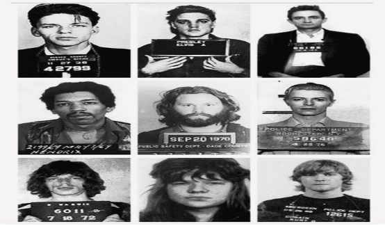 Mug Shots - Mejores Fotografías de la Historia de la Música