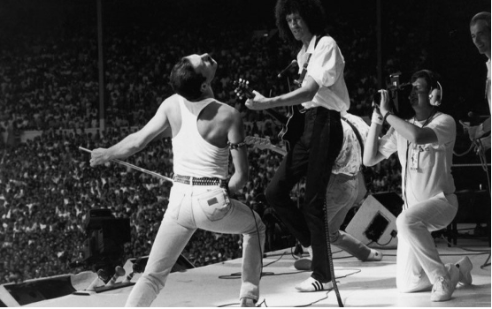 Queen at Live Aid - The 10 best photographs in the history of music