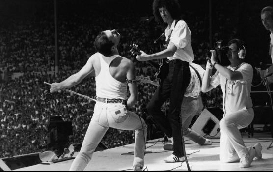 Queen y Freddy Mercury - Mejores fotografías de la Historia de la Música