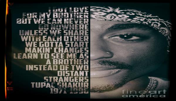 "Tupac Shakur ""Changements"""